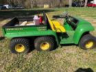 John Deere Gator 6x4, UTV, Runs good - gas powered