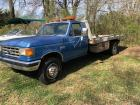 Ford F-Super Duty Roll Back Wrecker, diesel engine 7.3 liter, 16 ft aluminum Chevron Bed, runs, bed works, Have TN Title