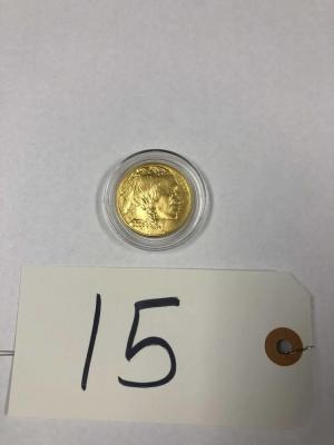 2006 $50 gold coin .9999 fine gold Indian Head/Buffalo