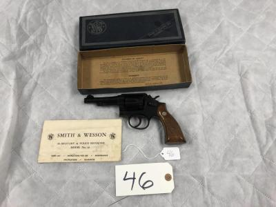 Smith & Wesson 38 Military & Police Revolver model No.10 in original box