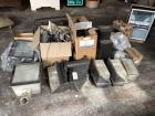 Large assortment of security/street lights - some new, some used