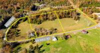 Lot 1 Old farmhouse w/ 2 berooms 1 bath,corner of Six mile and Knob road, spring fed creek, good buildingsites & mountain views, 4.60 acres