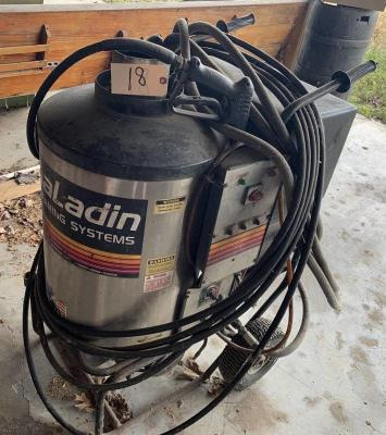 AaLadin Cleaning Systems hot water pressure washer