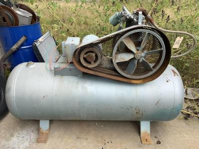 Large industrial type air compressor as-is