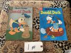 2 Donald Duck Comics, 1956, 1958 Dell