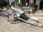 Civil War Era Horse Drawn Cart w/ dump