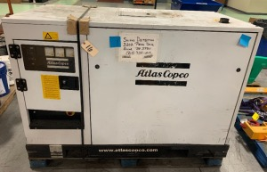 Atlas Copco generator- missing fuel filter mount - 5,866 hours