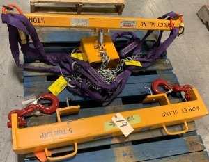 Ashley lift slings - 5 ton, half ton