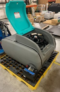 Enduraplas 100 gallon fuel cell w/ battery and pallet