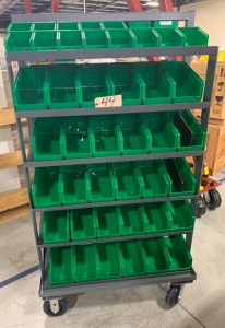 Mobile tool rack - 2 sided