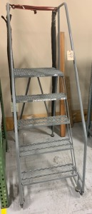 Tilt and roll stairs - as-is