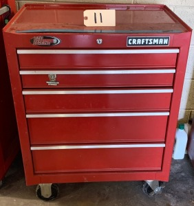 Craftsman tool cabinet - 5 drawers (no tools)