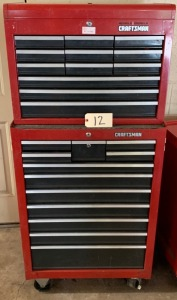 Craftsman stackable tool box - 21 drawers (no tools)