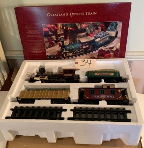 Greatland Express battery powered Train