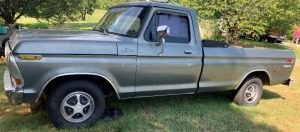1978 Ford Ranger Explorer long bed - has title - odometer reads 94,661 miles. New tires have approx. 50 miles on them.