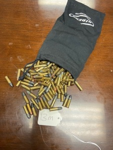 Approx. 348 rounds of .22 caliber ammo in bag