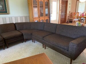 5 piece sectional - Avant designs by Kroehler Furniture - as-is condition