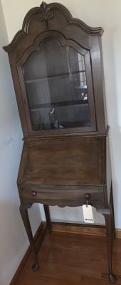 Antique secretary, Queen Anne style, very nice & clean