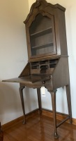 Antique secretary, Queen Anne style, very nice & clean - 2