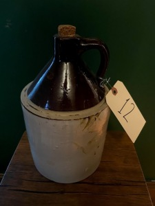 1 gallon crock - appears good condition