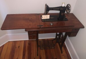 Singer Treadle sewing machine. Working condition