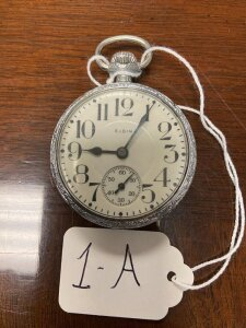 Elgin 7 jewel pocket watch. Appears to be working
