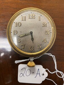 Lemania Watch Co. pocket watch, large 8 day, Swiss made, seems to be working.