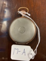 Junghans pocket watch two tone case, seems to work. - 2