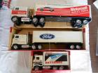 die cast lot Cab Over Engine tractor trailer trucks