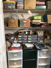 Misc. games, toys, filing cabinets, Christmas items, etc.
