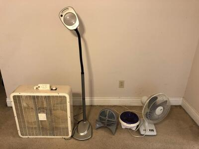 4 fans, electric magnifying glasss