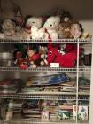 Closet lot- Stuffed animals, Clifford, Curious George, Etc… Children's books